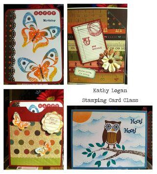 Logan Stamping Card Collage
