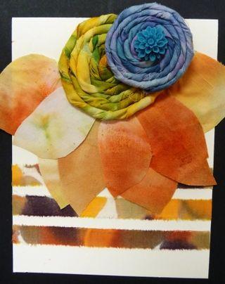 Liz Copic on Fabric 1