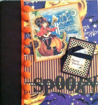 Liz October Spooky album