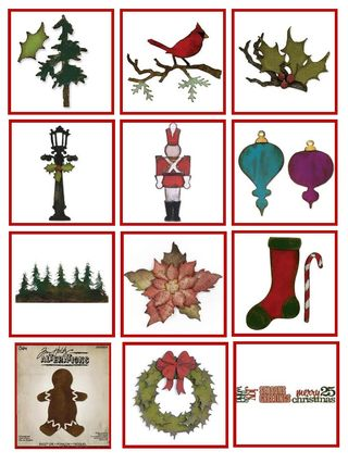 TH Holiday Die Cuts