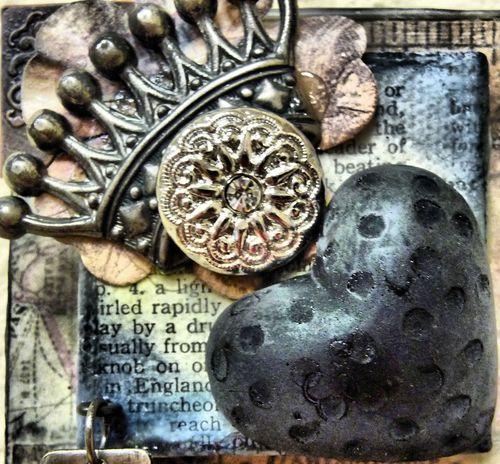 Creative Blocks King of Hearts section